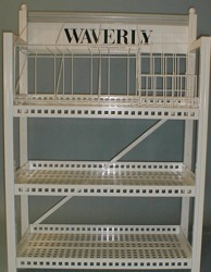 wire metal shelving  custom