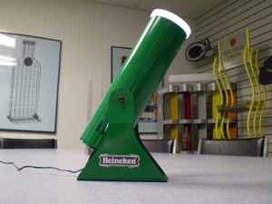 heineken logo light projector