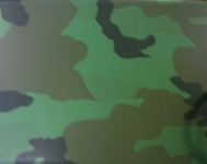 metal custom cameo finish camoflauge